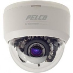 Pelco FD1-IRV9-4 540TVL Indoor IR Dome Camera, 3-9mm, NTSC