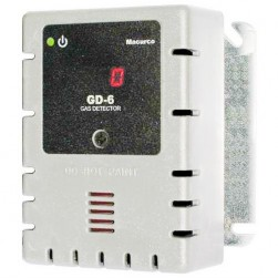 Macurco GD-6-W Combustible Fixed Gas Detector Controller & Transducer