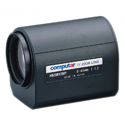 Computar H6Z0812MP 1/2-in 6X Motorized Zoom Lens (C-Mnt)