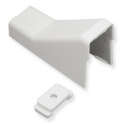 "ICC ICRW13CEWH 1 3/4"" Ceiling Entry & Mounting Clip - White"