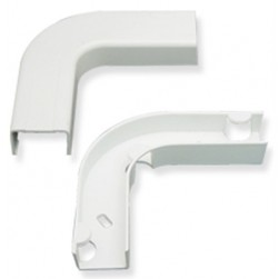 "ICC ICRW22EBWH 3/4"" Flat Elbow with Base White"