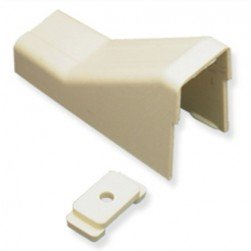 """ICC ICRW13CEIV 1 3/4"""" Ceiling Entry & Mounting Clip - Ivory 10Pk"""