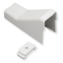 """ICC ICRW22CMWH 3/4"""" Ceiling Entry and Mounting Clip White"""