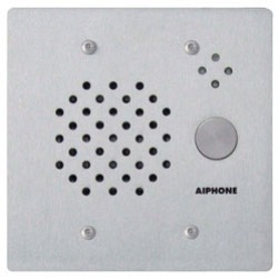 Aiphone IE-SS-A 2-Gang Door Station, Flush Mount