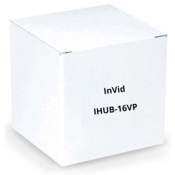 InVid IHUB-16VP Hub 16 Channel Provides Power up Cat Cable 750 Feet