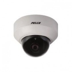 Pelco IS20-CHV10S CC 2 Indoor Surface Color High Smoked Dome Camera, 2.8-10mm Lens