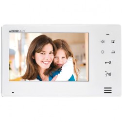 "Aiphone JO-1FD 7"" Screen With Touch Buttons, Hands-Free Expansion Monitor"