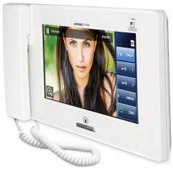 Aiphone JP-4HD 7 Inch Touchscreen Handset/Hands-Free Sub Master