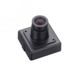 KT&C KPC-VSN700NHP3 550TVL Super Mini Square Color Indoor Camera, 3.7mm Lens