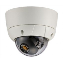 KT&C KPC-VDE101NUV17 750TVL Outdoor D/N Vandal Dome, 2.8-12mm
