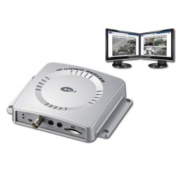 KT&C KVS-1000 Single Channel Network Server, Supports Dual Video Stream, PoE, webviewer & CMS, DC12V