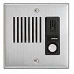 Aiphone LE-DA Flush Mount Door Station, Stainless Steel Faceplate