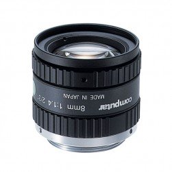 Computar M0814-MP2 2/3-inch 8mm f1.4 w/locking Iris & Focus