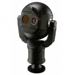 Bosch MIC-612HFALB36N 550 TVL Analog Thermal PTZ Camera, 36X Lens, NTSC