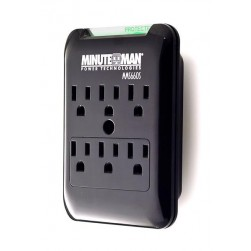 Minuteman MMS660S 6-Outlet Slimline Wall Tap