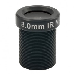 ACTi PLEN-4103 IR Fixed Iris Megapixel Board Lens, 8mm