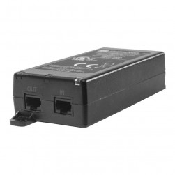 Pelco POE21U1AF-US Single Port POE Injector with US Power Cord