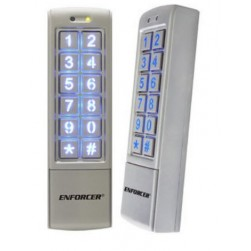 Seco-Larm SK-2323-SDQ Mullion-Style Outdoor Stand-Alone Keypad