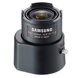 Samsung Security SLA-M3180DN 3 Megapixel CS-Mount Varifocal Lens, 3.1-8mm