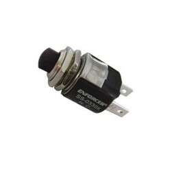 Seco-Larm SS-033Q-BK Black N.C. Momentary Pushbutton Switch