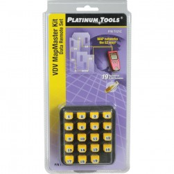 Platinum Tools T121C VDV MapMaster Data Remote Set