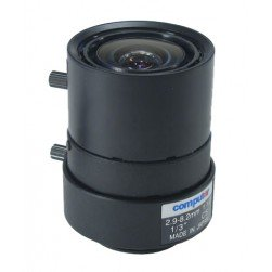 Computar T3Z2910CS 1/3-inch 2.9-8.2mm f1.0 Varifocal,Iris (CS Mount)