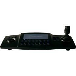 Interlogix TVK-800 IP Keypad with LCD Touch Screen and 4-Axis Joystick
