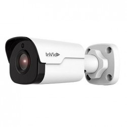 InVid VIS-P4BXIR36-16G 4 Megapixel IP Plug & Play Outdoor Bullet Camera, 3.6mm Lens