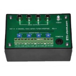 ETS VNF-4 Four Channel Voice Band Notch Filter Interface