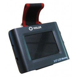 Veilux VX-WLCDM 2.5-inch LCD Test Monitor with Wrist Strap