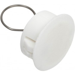 Nascom ADPLP0750WHT 3/4 Inch Adaptor Plug with Loop White