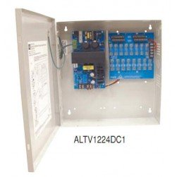Altronix ALTV1224DC1 16 Output PSU, 12/24 VDC, 4Amp,Fused Outputs