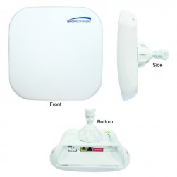 Speco AP348 300Mbps Outdoor Point-to-Point Video Network Bridge with DIP Function