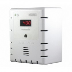 Macurco CD-12MC Carbon Dioxide CO2 Fixed Gas Detector Controller Transducer, Manual Calibration