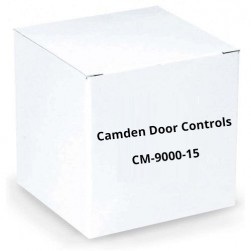 "Camden Door Controls CM-9000-15 Steel Flush (7/8"") Maintained Button"