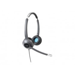 Cisco CP-HS-W-522-USBC 522 Wired Dual Headset with 3.5mm Connector & USB-C Adapter