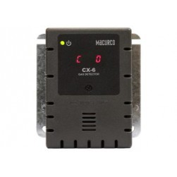 Macurco CX-6 CO/NO2 Low Voltage Fixed Gas Detector and Controller, Grey