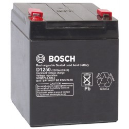 Bosch D1250 Battery 12V 5 AH