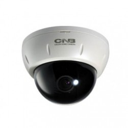 CNB DD222-4VF 580TVL Indoor Analog Dome Camera, 2.8-10.5mm Lens