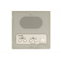 Linear DMC4RSA Retrofit Indoor Room Station with Remote Scan and Master Volume, Almond