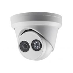 Hikvision DS-2CD2343G0-I-2-8mm 4 Megapixel Day/Night Outdoor IR Fixed Turret Network Camera, 2.8mm Lens