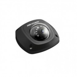 Hikvision DS-2CD2542FWD-ISB-4MM 4 Megapixel Mini Dome Network Camera, 4mm Lens, Black Finish