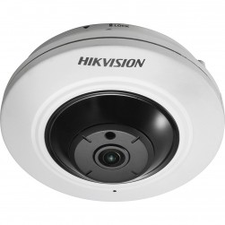Hikvision DS-2CD2955FWD-IS 5 Megapixel Network Fisheye Camera, 1.05mm Lens