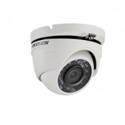 Hikvision DS-2CE56C2T-IRM-6MM HD720p TurboHD Outdoor IR Turret Camera, 6mm Lens