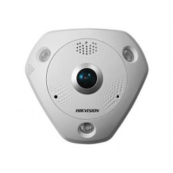 Hikvision DS-2CD63C2F-IV 12Mp Outdoor IR Vandal Fisheye Network Camera