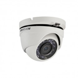 Hikvision DS-2CE56C2T-IRM-2-8MM HD720p TurboHD Outdoor IR Turret Camera, 2.8mm Lens