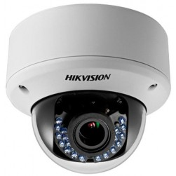 Hikvision DS-2CE56D5T-AVPIR3 Turbo HD Outdoor IR Vandal Dome, 2.8-12mm Lens