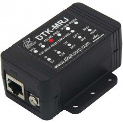 Ditek DTK-MRJETHS Shielded Gigabit Ethernet Surge Protection