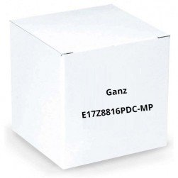 Ganz E17Z8816PDC-MP 1/1.8 Type 3 Megapixel Cameras, F1.6, 17X Motorized Zoom, C Mount