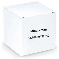 Minuteman EC1000RT2UNC 1-3kVA True Online Rack/Tower, Standard Runtime UPS with SNMP Card